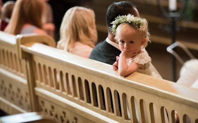 Hodepynt til bryllup fra Søstra til Morten AS