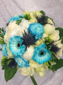 Blomster til bryllup fra Søstra til Morten AS